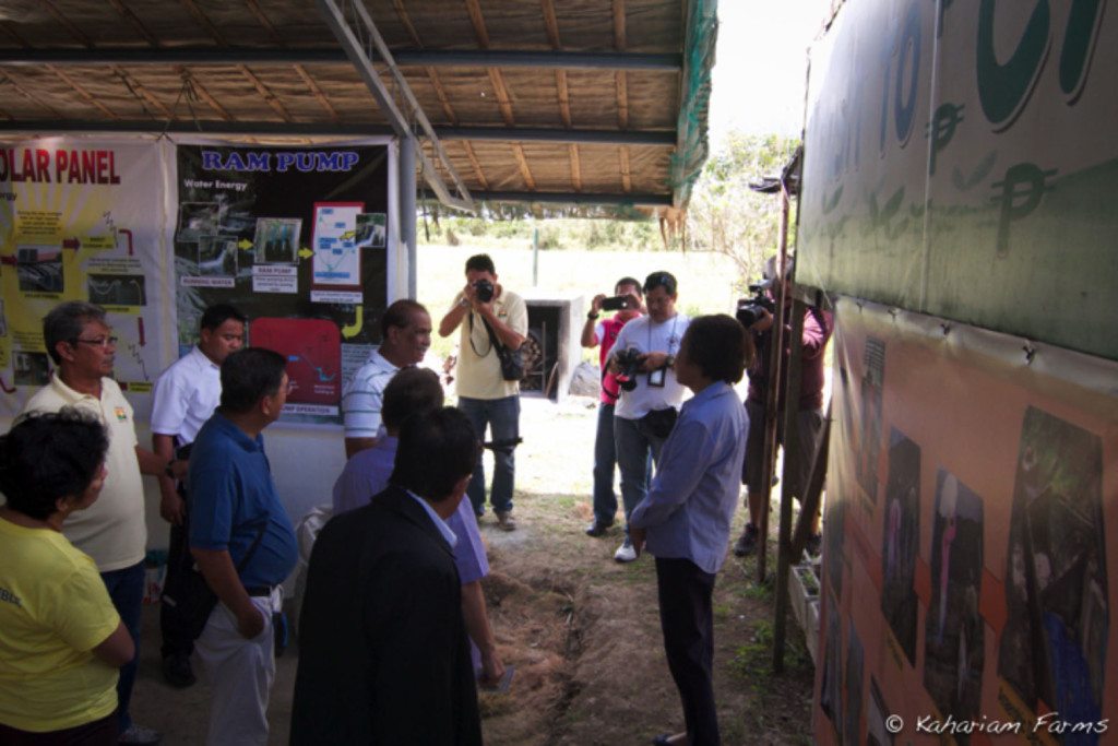 "At the exhibition hall that is part of our ""Organic Farm Tour"" that aims to raise awareness on it's many health benefits as well as the other ecological solutions we can participate in to help take care of our planet."