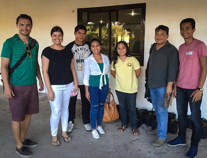 Group picture with JCI Manila's iAgri participants